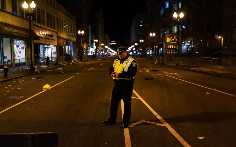 Image: Boston Deals With Aftermath Of Marathon Explosions