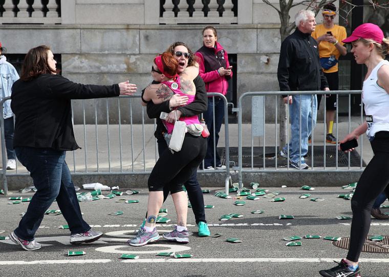 Image: Multiple People Injured After Explosions Near Finish Line at Boston Marathon