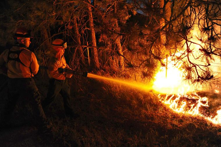 Image: Black Forest firefighting mission