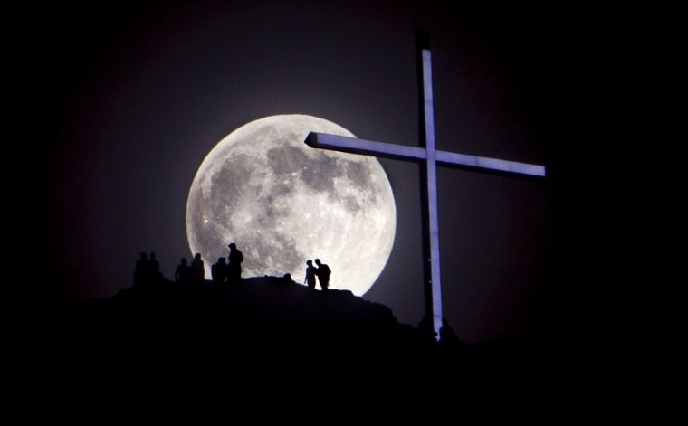 Image: super moon
