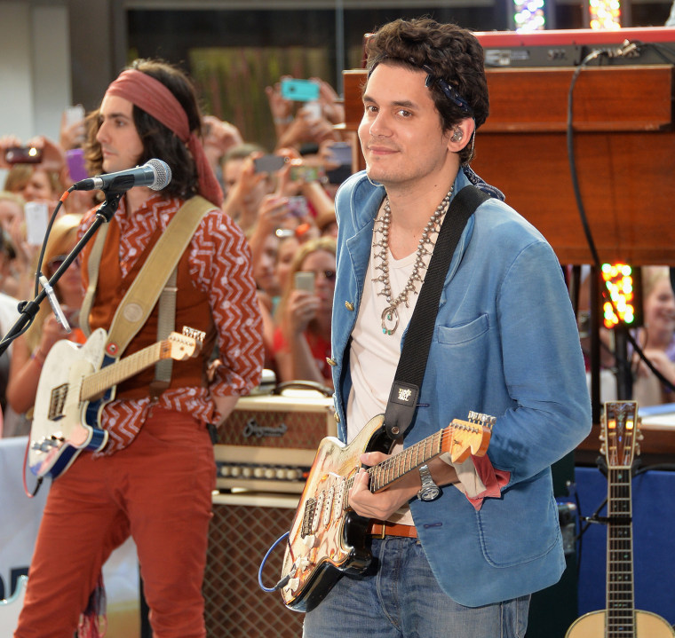 """Image: John Mayer Performs On NBC's """"Today"""""""