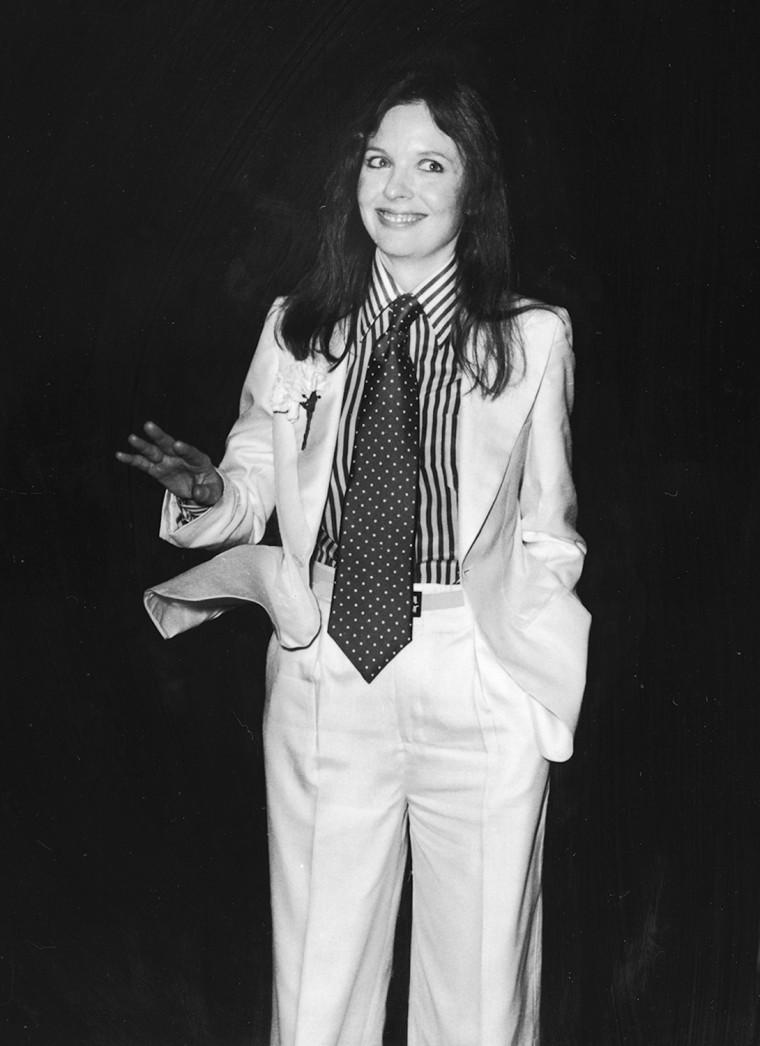 Diane Keaton At Academy Awards