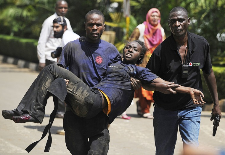 Image: KENYA-UNREST-ATTACK