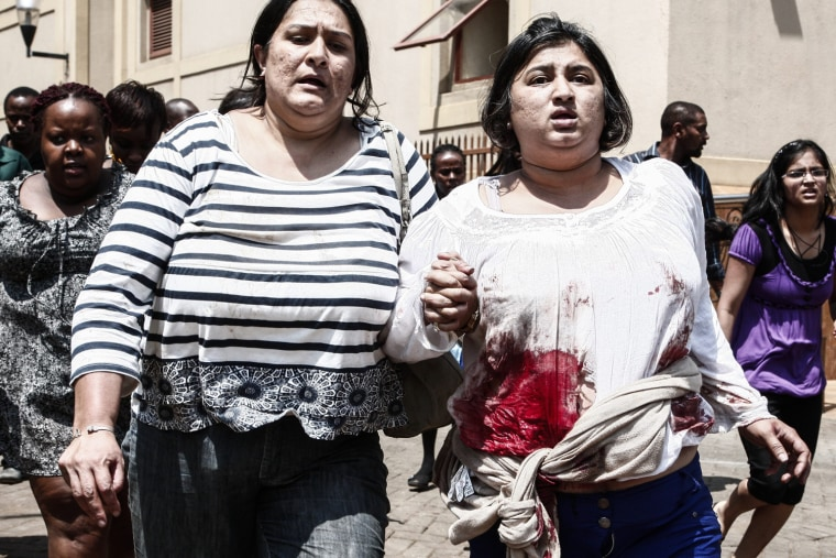 Image: Death toll hits 30 after Nairobi shopping mall attack
