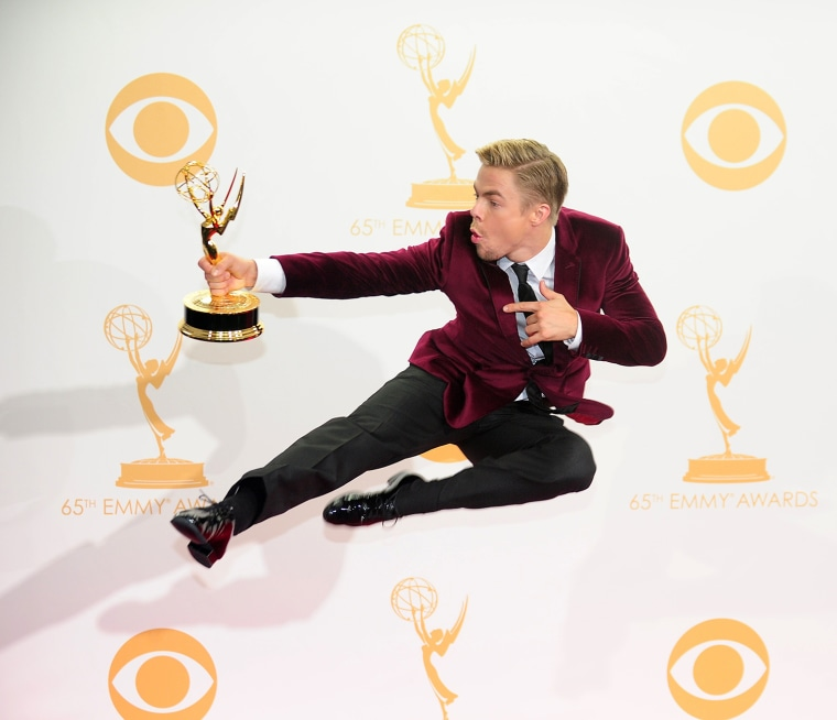Image: US-ENTERTAINMENT-EMMY AWARDS-PRESS ROOM