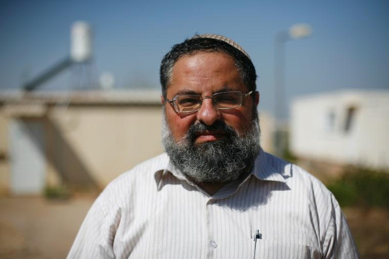 Faces of an Israeli settlement: Yitzik.