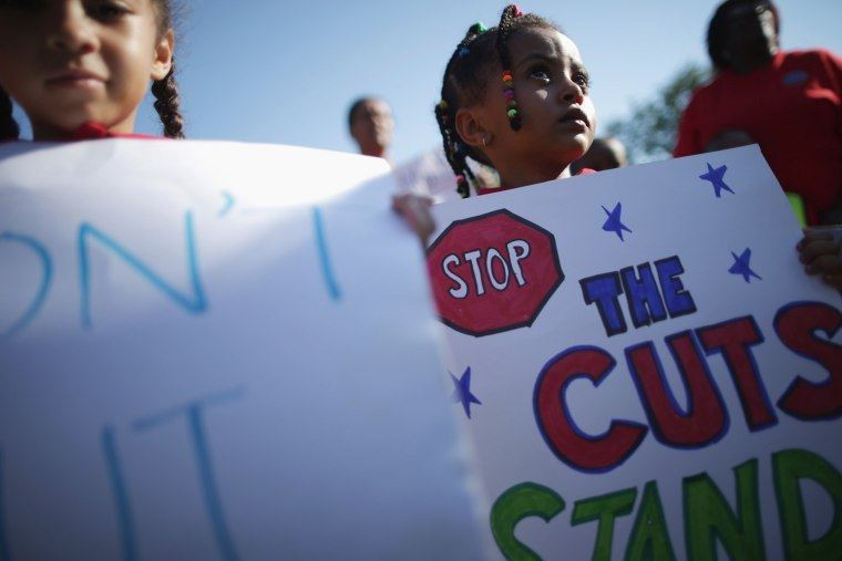 Image: Capitol Hill Rally In Support Of Head Start Urges Congress To End Sequester