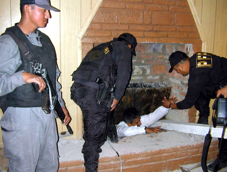 Drug Tunnel Into U.S. Discovered