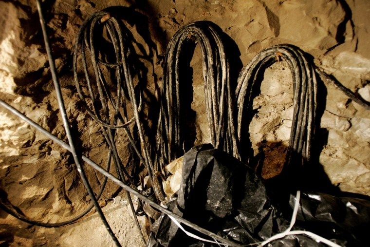 Drug Tunnel Found At Mexican Border