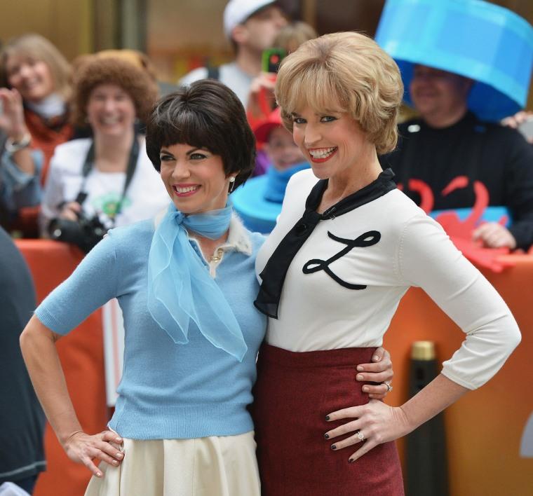"""Image: NBC's """"Today"""" Halloween 2013"""