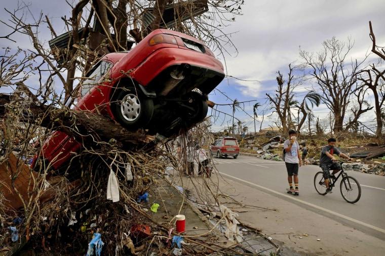 Image: BESTPIX  Humanitarian Efforts Continue Following Devastating Super Typhoon