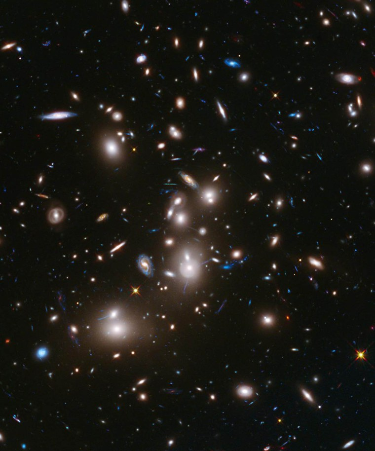 Image: SPACE-US-HUBBLE-ABELL 2744