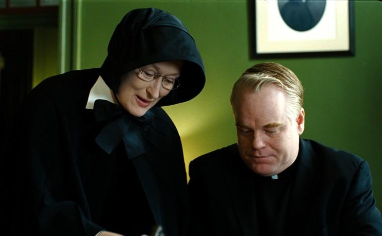 Image: Philip Seymour Hoffman, Meryl Streep