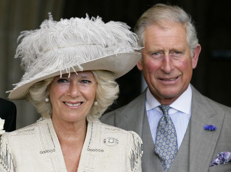Image: (FILE PHOTO) Queen Makes Camilla a Dame Grand Cross
