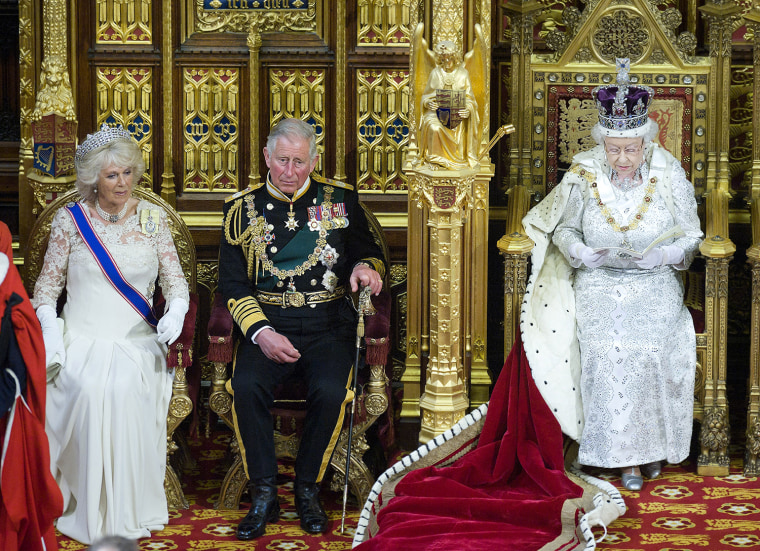 Image: Queen Elizabeth II Attends The State Opening Of Parliament