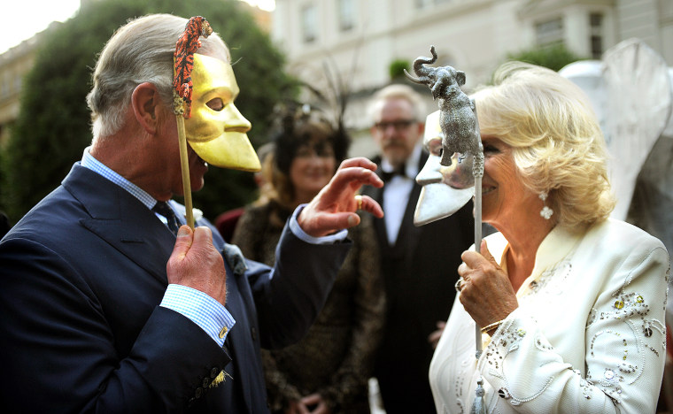 Image: The Prince Of Wales & Duchess Of Cornwall Host A Royal Reception For The Elephant Family