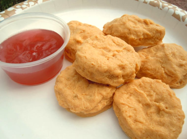 Food soap - THE ORIGINAL SweetSoap Fast Food Chicken Nugget Soap with sauce https://www.etsy.com/listing/62862299/food-soap-the-original-sweetsoap-fast?ref=shop_home_active_3