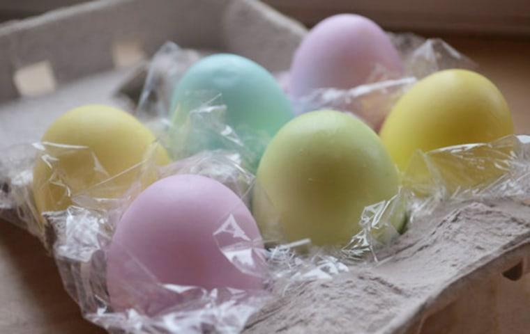 Easter Egg Soap - Half Dozen Colored Egg Soaps in Carton https://www.etsy.com/listing/93122840/easter-egg-soap-half-dozen-colored-egg?ref=shop_home_active_11