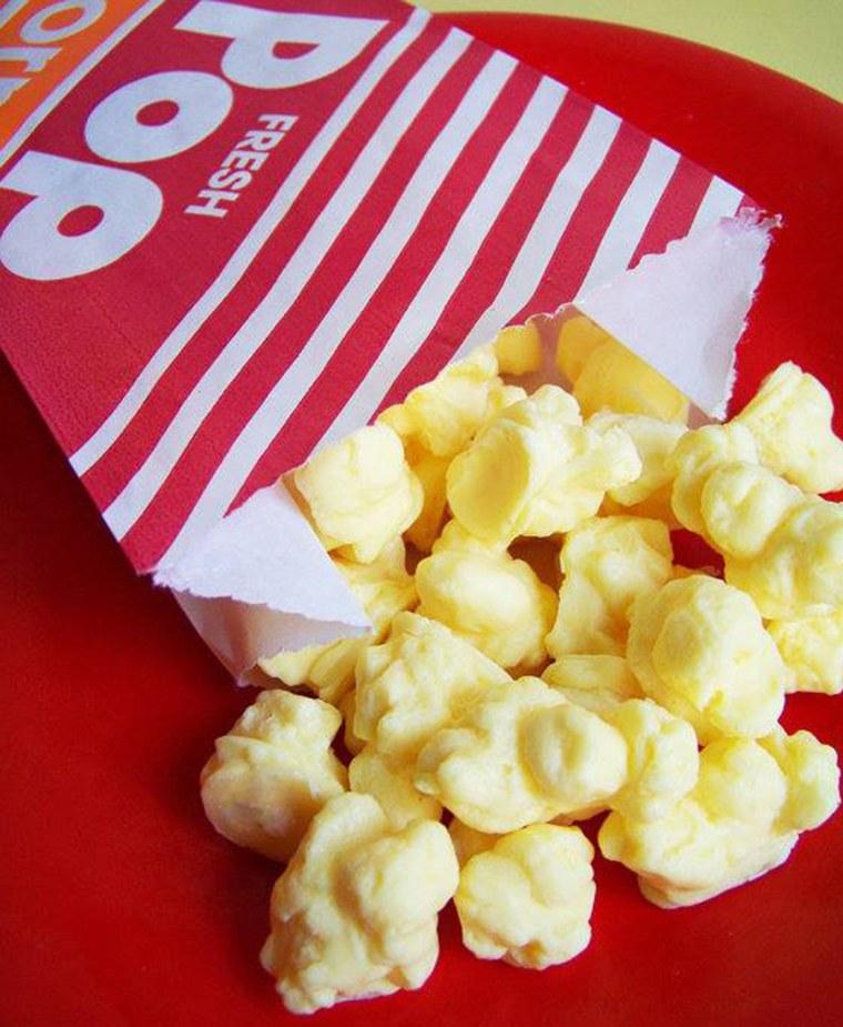 Popcorn  https://www.facebook.com/loveleesoaps?ref=br_tf