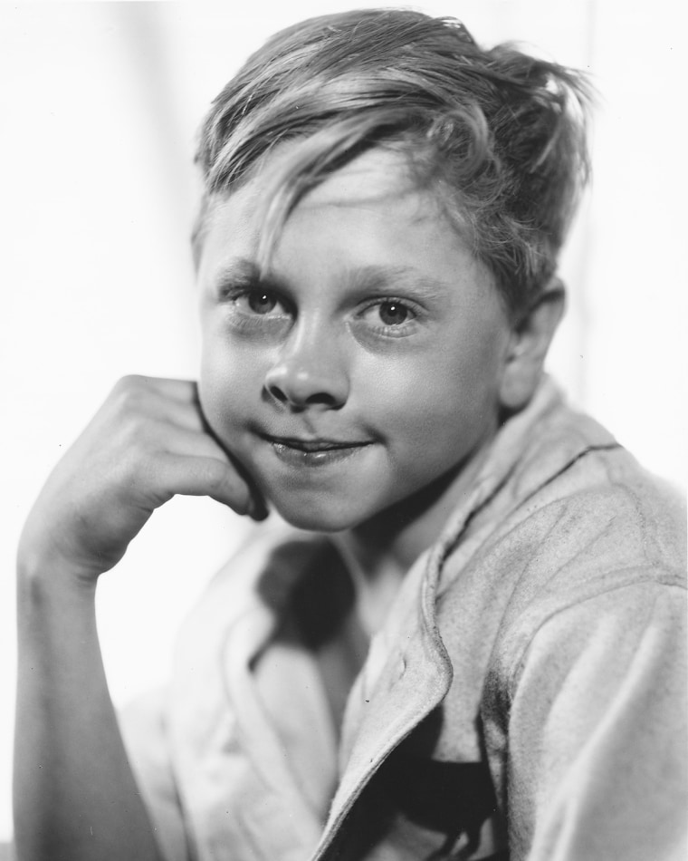 Image: FILE: Actor Mickey Rooney Dies At Age 93 Young Mickey Rooney
