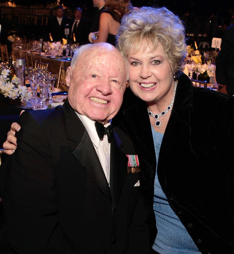 Image: FILE: Actor Mickey Rooney Dies At Age 93 14th Annual Screen Actors Guild Awards - Cocktail Party