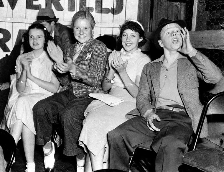 Judy Garland Cooper Lewis Rooney