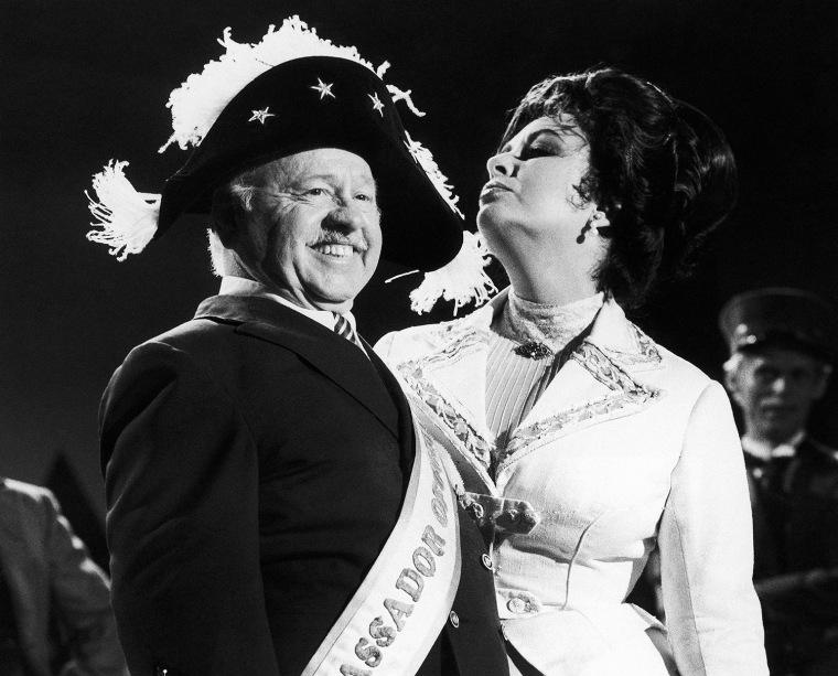 Mickey Rooney, Elizabeth Taylor