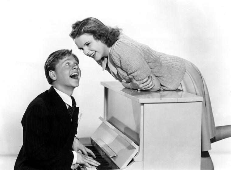 BABES IN ARMS, Mickey Rooney, Judy Garland, 1939