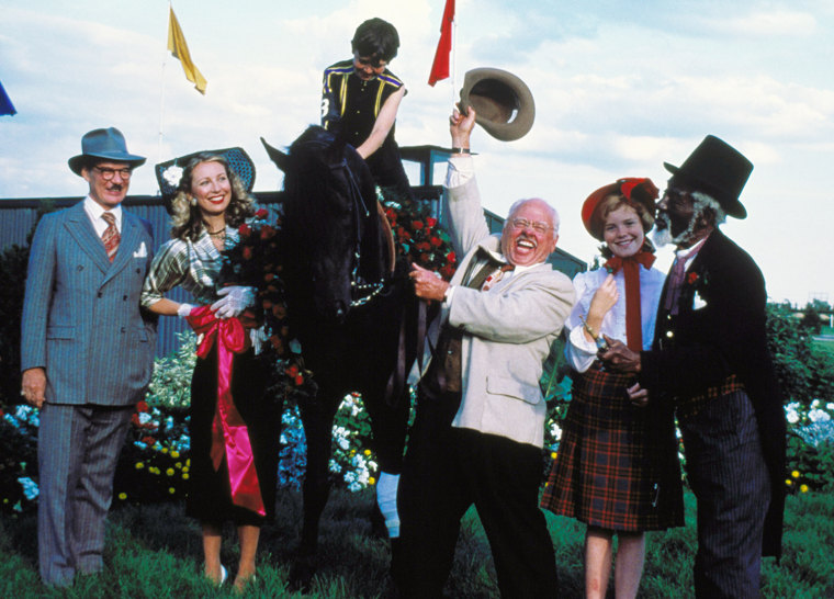 THE BLACK STALLION, Michael Higgins, Teri Garr, Kelly Reno, Mickey Rooney, Kristen Vigard, Clarence Muse, 1979, (c) United Artists/courtesy Everett Collection