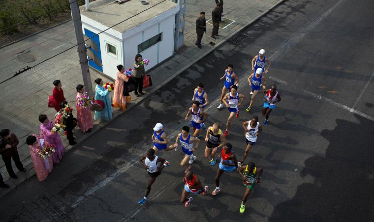 Image: North Korea Marathon
