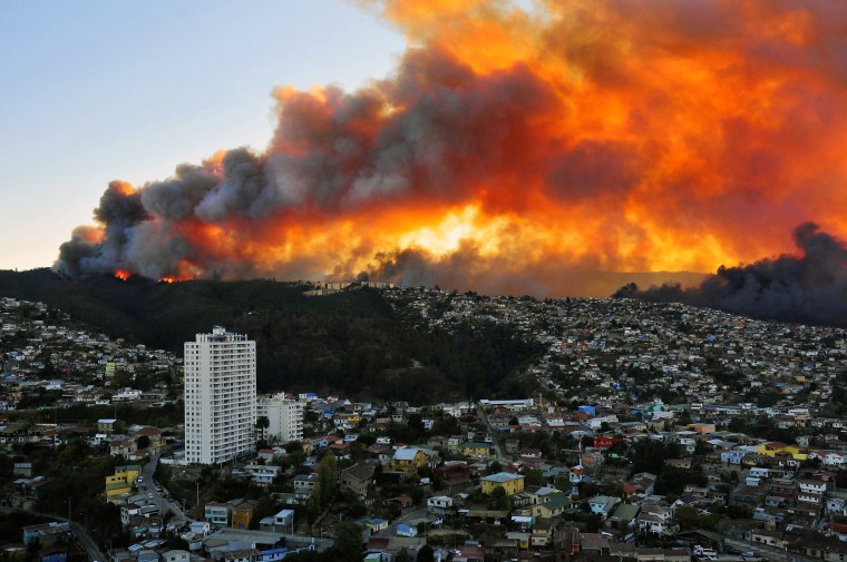 Image: CHILE-FIRE