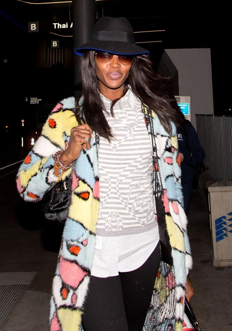 Image: Celebrity Sightings In Los Angeles - April 13, 2014