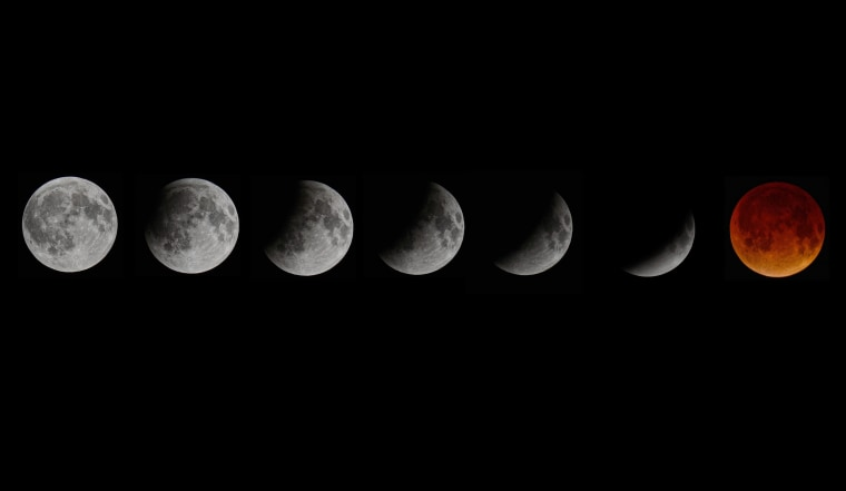 Image: Total Lunar Eclipse