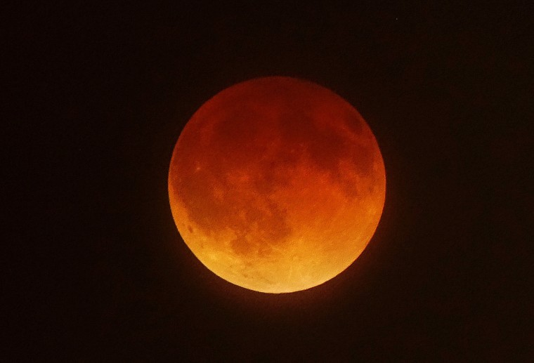 Image: Lunar eclipse of the moon