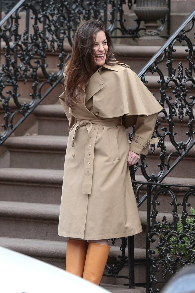 Image: Celebrity Sightings In New York - April 14, 2014