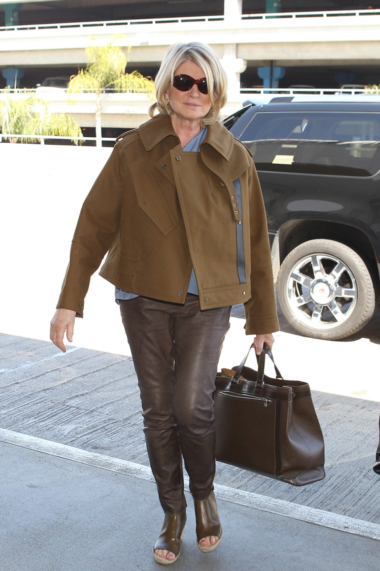 Image: Celebrity Sightings In Los Angeles - April 14, 2014