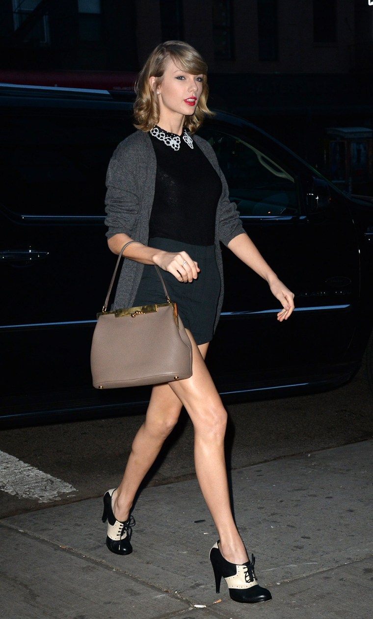 Image: Celebrity Sightings In New York City - April 14, 2014