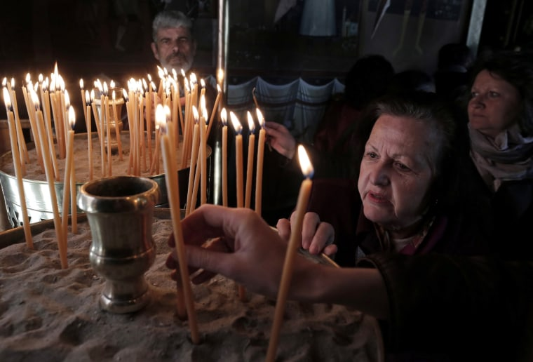 Image: Good Friday commemoration in Athens