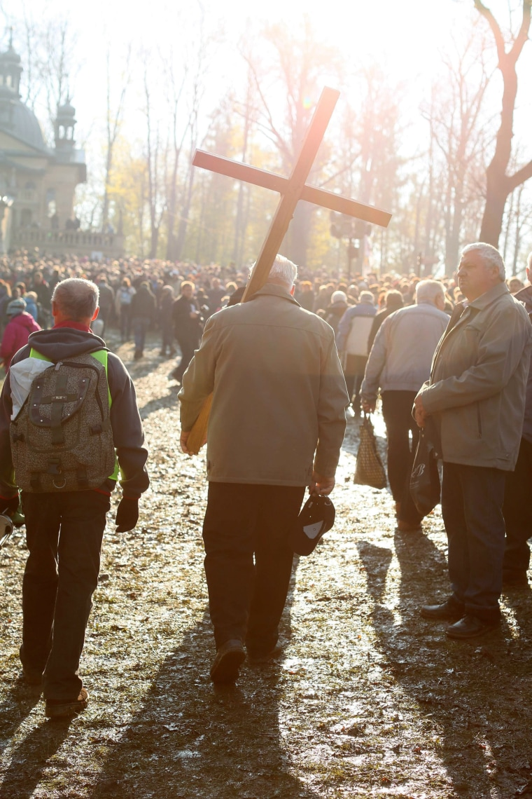 Image: Passion of Christ procession in Kalwaria Zebrzydowska