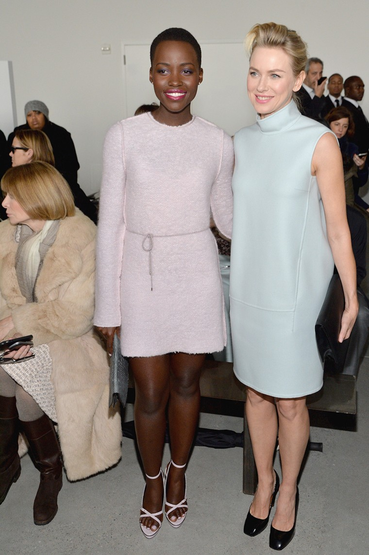 Calvin Klein Collection - Front Row - Mercedes-Benz Fashion Week Fall 2014