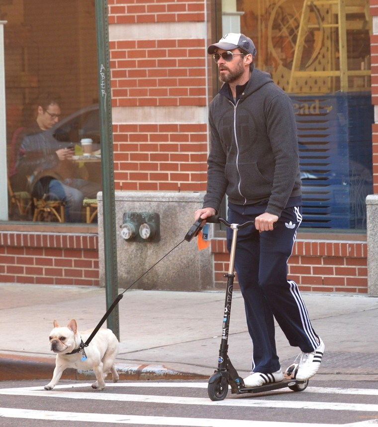 Image: Celebrity Sightings In New York City - April 21, 2014