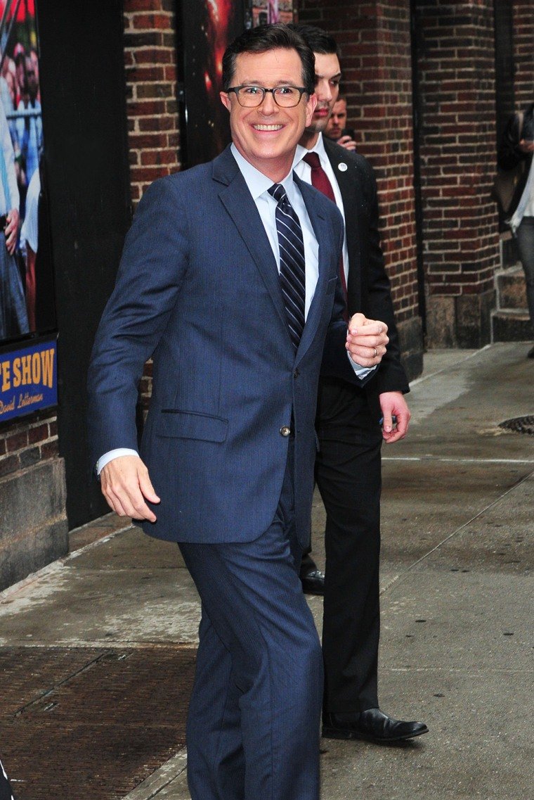 Image: Celebrity Sightings In New York City - April 22, 2014