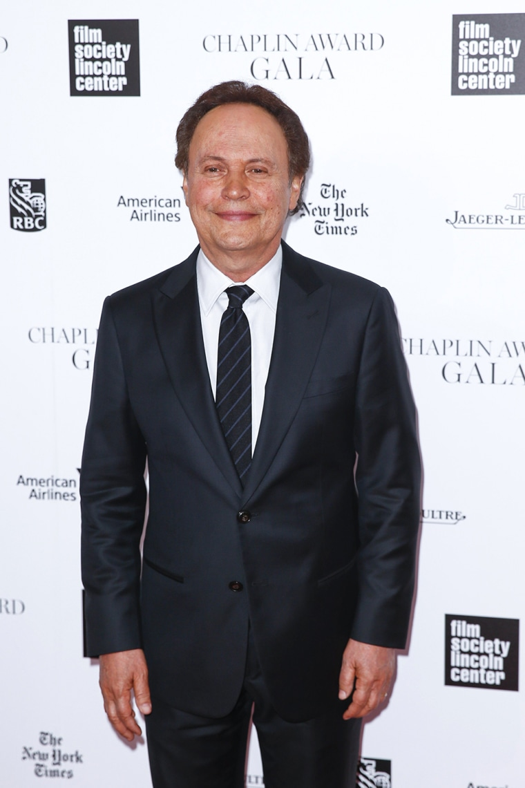 Image: Billy Crystal arrives at the 41st Annual Chaplin Award Gala in New York