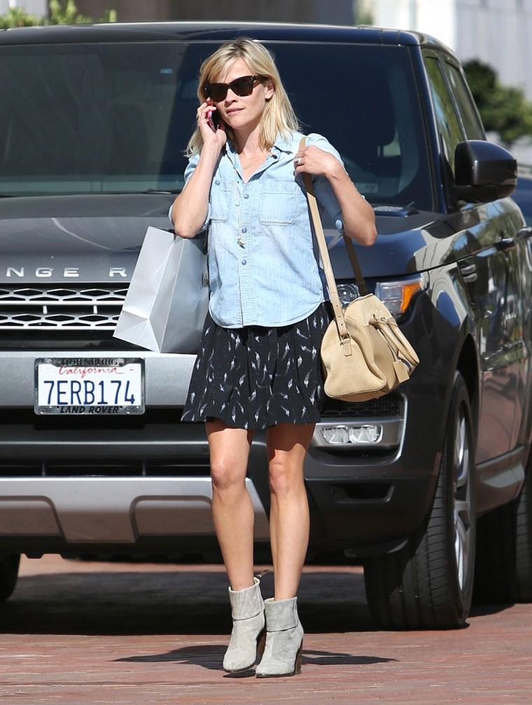 Image: Celebrity Sightings In Los Angeles - April 28, 2014