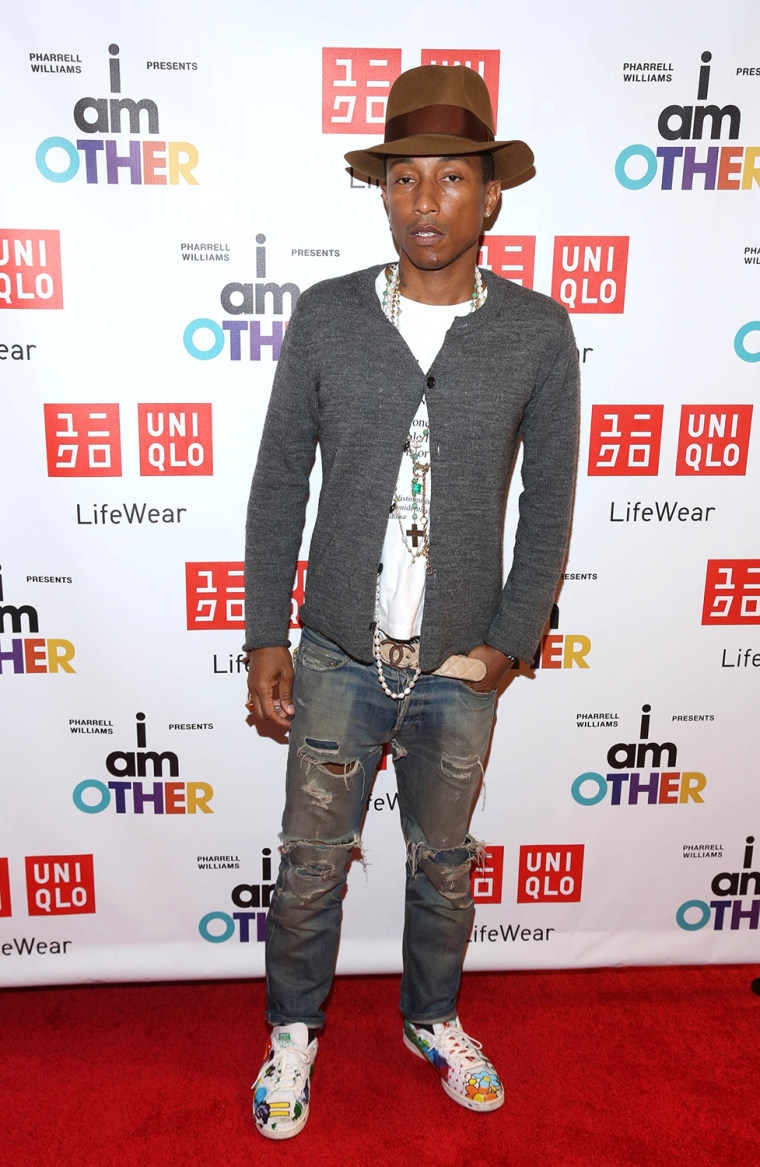 """Image: Pharrell Williams UNIQLO """"I Am Other"""" Collection Launch"""