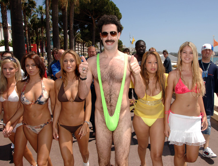 2006 Cannes Film Festival - Borat Arrives in Cannes