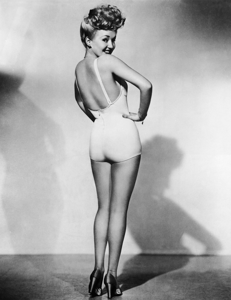 Betty Grable, Pin-Up Girl