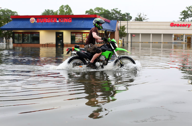 Image: Storm Systems Brings Severe Flooding To Pensacola