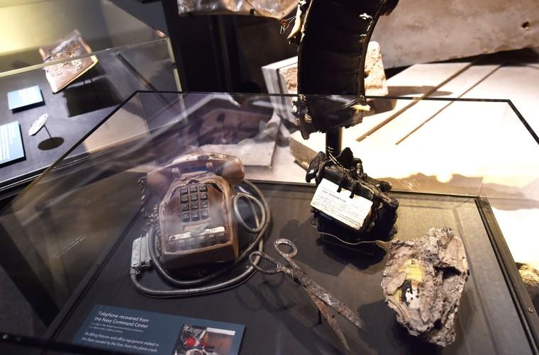 Image: US-ATTACKS-9-11-MEMORIAL-MUSEUM