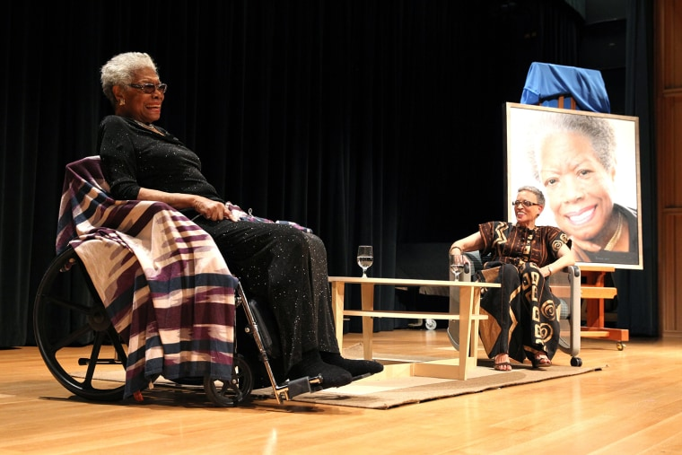 Image: Maya Angelou, Johnnetta Cole